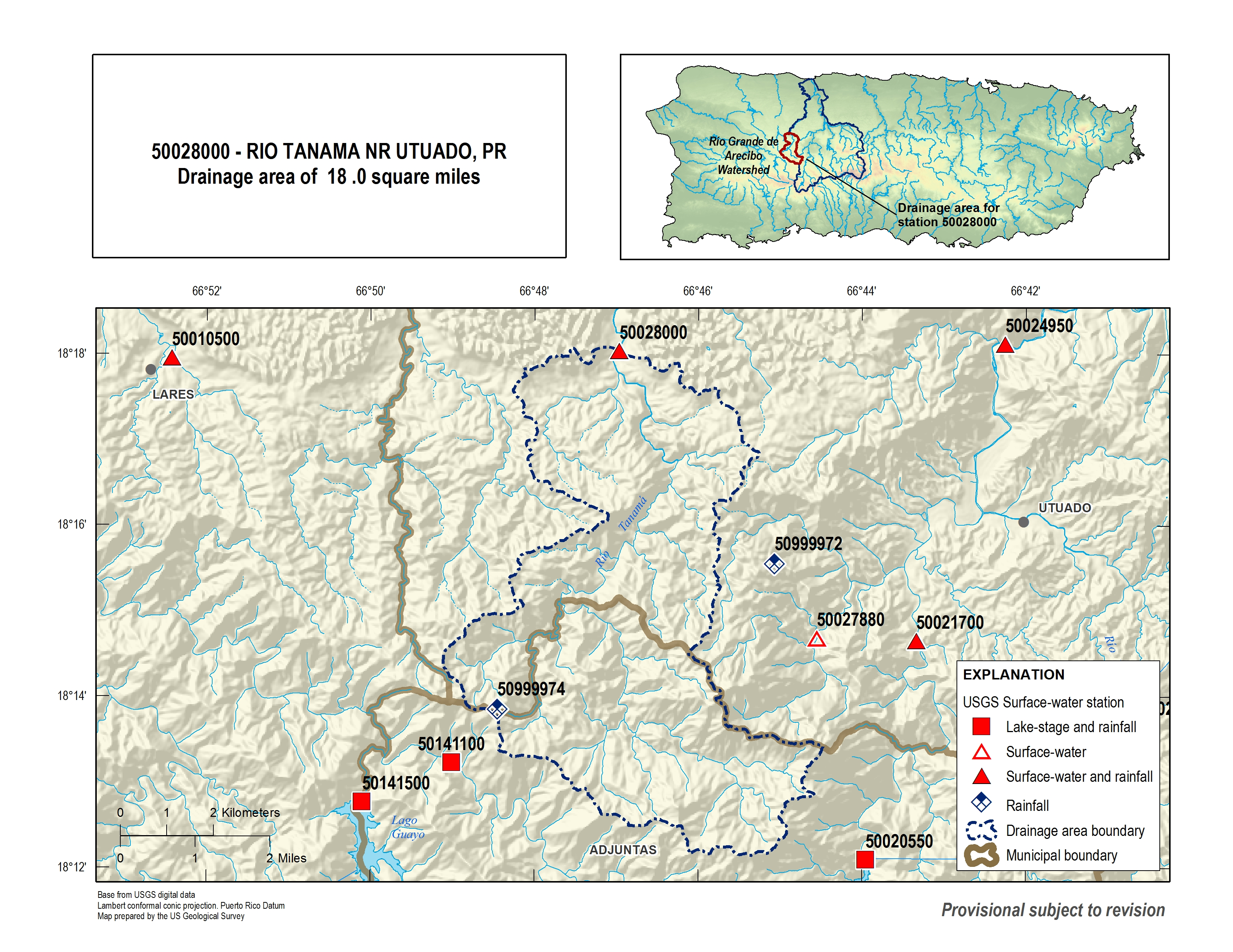 USGS Current Conditions for USGS 50028000 RIO TANAMA NR ...