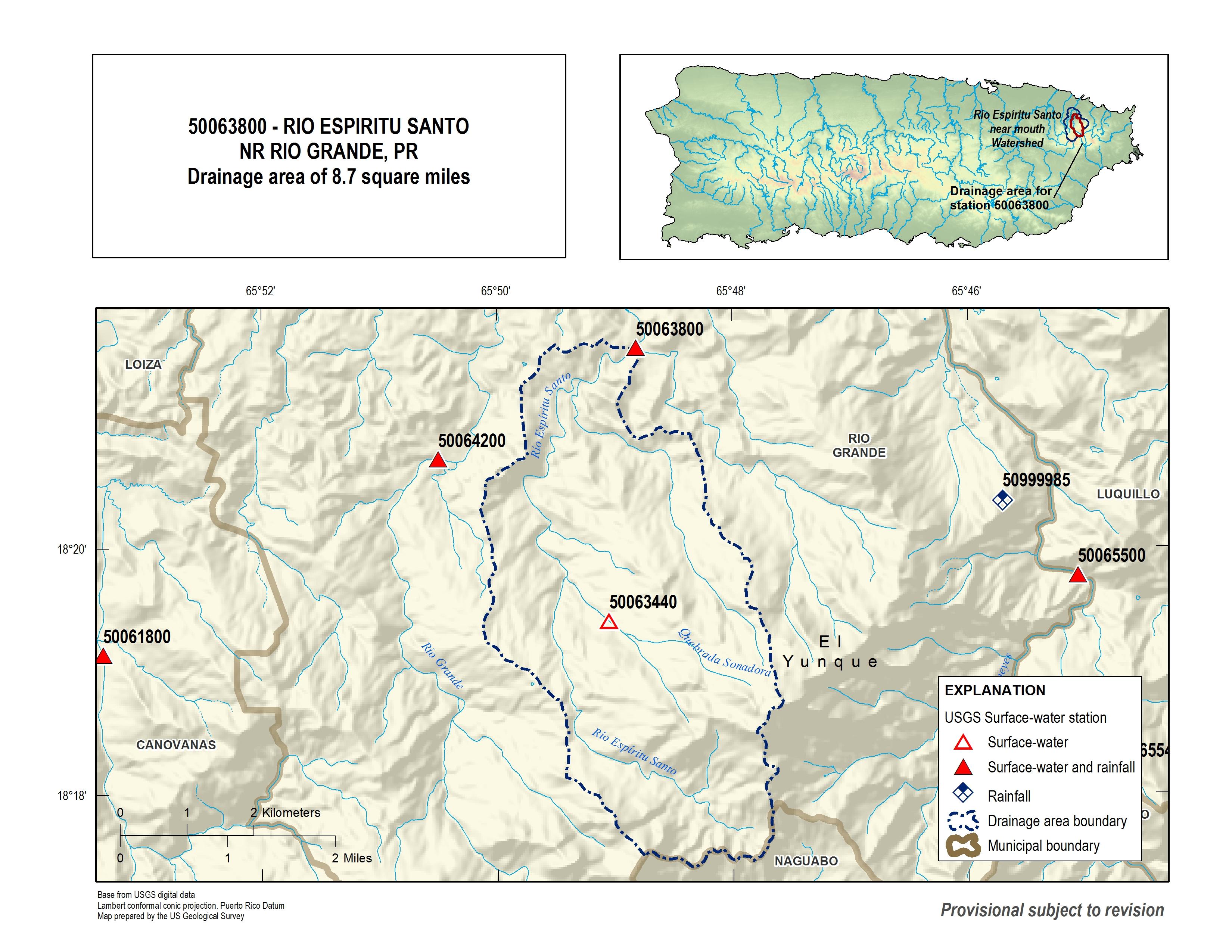 Usgs Current Conditions For Usgs 50063800 Rio Espiritu